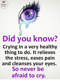 Your Eyes So Beautiful Quotes Best of Beautiful Quotes Did You Know Crying In A Very Healthy Thing To Do