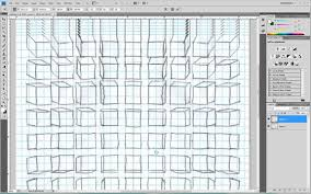 Remove Graph Paper Lines In Photoshop Youtube