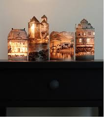 light up a room with diy houses by night