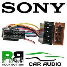 sony cdx series car radio stereo 16 pin wiring harness loom iso sony 16 pin wire stereo plug harness at Sony 16 Pin Wiring Harness