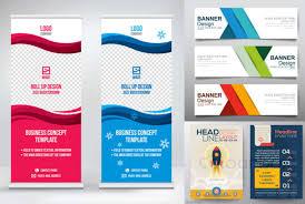 Pamphlet And Brochure Design Banner Roll Up Flyer Pamphlet Brochure Voucher Etc