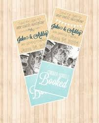 Recycled Paper Bookmark Save The Dates From Twisted Limb Paperworks