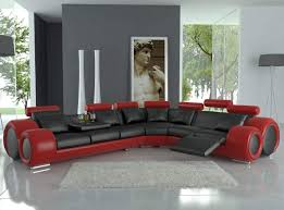 Italian Living Room Furniture Living Room Design With Black Leather Sofa Modern Leather Living