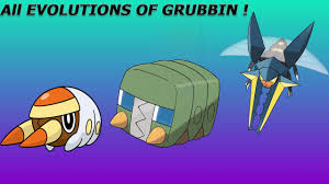 Crabrawler Evolution Chart Pokemon Sun And Moon Grubbin Evolution Evolve Grubbin