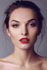 10 makeup tips for when you re in a rush red lipstick