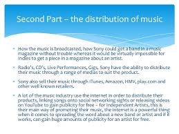 music industry essay plan a starting point  5 how the music