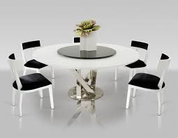 Circular Dining Table For 6 Modern Round Dining Table For 6