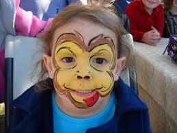 1024x768 child monkey face makeup makeupview co monkey face painting