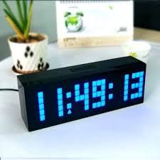 led atomic clock atomic alarm clock radio alarm clock large display digital large big jumbo led
