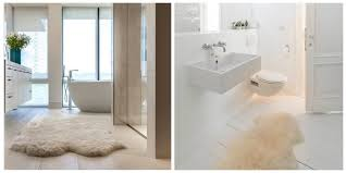 add a splash of class to your home with a sheepskin rug in the bathroom from aesthetic appeal to natural benefits sheepskin is perfect for the bathroom