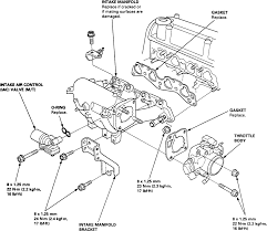 Fig typical honda intake manifold