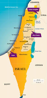 maps israel today  aipacorg