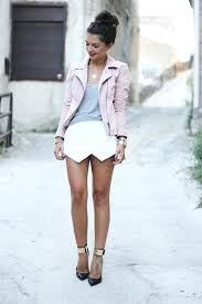 blush pink leather jacket colored jackets biker