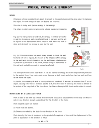 Work Energy And Power Class 11 Notes Iit Jee Neet Esaral