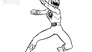 Power Ranger Coloring Pages Free Gyerekpalotainfo