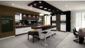 Black White U0026 Wood Kitchens Ideas U0026 InspirationDesign Interior Kitchen