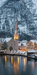 Hallstatt, Austria, now I would love to visit here, it looks like a