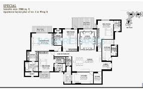 dlf park place layout plan 3500 sq ft house plans india home design 2017