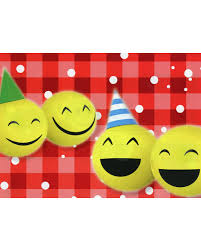 balloon airplane smileys