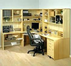 home office storage units. Corner Desk With Shelves Home Office Unit Best Wooden Ideas Storage Units