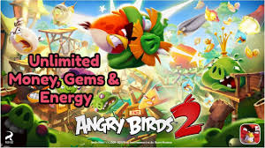 Angry Birds 2 Unlimited Money and Gems Mod No Root   Angry birds, Posters,  The originals