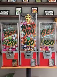 Tattoo Vending Machine Cool GET WHAT YOU GET Taylor Street Tattoo Co