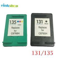 <b>einkshop Compatible For hp</b> 131 135 Ink Cartridge for hp Deskjet ...