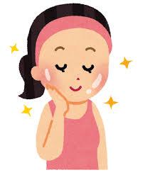 つるつるのお肌の女性のイラスト | かわいいフリー素材集 いらすとや