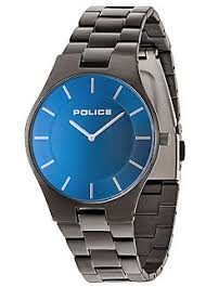 shop for police jewellery watches mens online at mans police mens splendour black ion plated bracelet watch