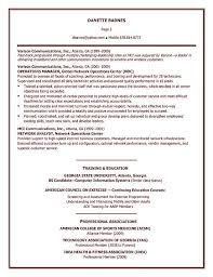 Personal Training Trainer Resume Example