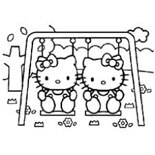 Coloring pages for hello kitty (cartoons) ➜ tons of free drawings to color. Top 75 Free Printable Hello Kitty Coloring Pages Online