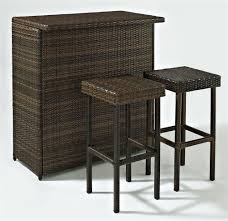 wood patio bar set. Outdoor Patio Bar Stools Wicker Wood Set R