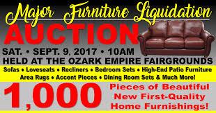 major furniture liquidation auction
