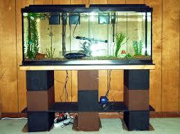 Living Room Built In Living Room Built In Wall Glass Fish Aquarium Table Diy Fish Tank
