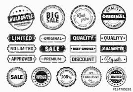 21 Vintage Stamp Style Label And Sticker Layouts Buy This Stock