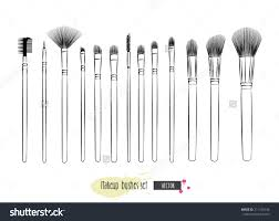 makeup brush makeup brush clipart makeup brushes clip art 57 sketch