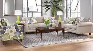 Lilith Pond Taupe 5 Pc Living Room