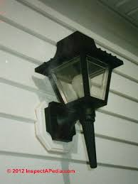 how to install an outside light fixture fixtures