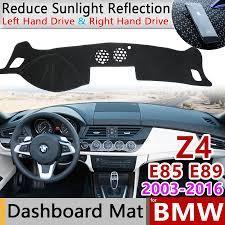 for BMW Z4 E85 E89 2003~2016 Anti Slip Mat Dashboard Cover Pad Sunshade  Dashmat Carpet Protect Accessories 2006 2008 2009 2010|Car Stickers
