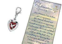 confirmation sponsor gifts