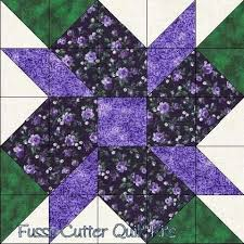 162 best S&ler style quilts images on Pinterest   Crafts, Colors ... & Scrappy Fabric Calico Flowers Easy Pre-Cut Quilt Blocks Kit Adamdwight.com