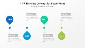 019 Powerpoint Timeline Template Free 4y Concep For 16x9