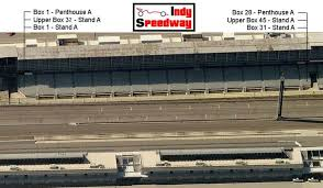 Indianapolis Motor Speedway Seating Chart A Stand Seating Chart Indy Speedway