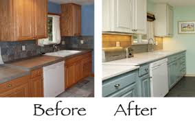 kitchen cabinets paintPaint Kitchen Cabinets Before And After  Home Design Ideas and