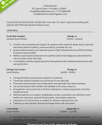 Attractive Example Social Work Resumes Model Documentation