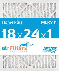 18x24 air filter. Wonderful Air 18 X 24 1 MERV 11 Pleated Air Filter To 18x24