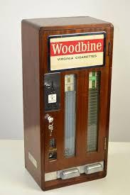 Vintage Cigarette Vending Machine For Sale Stunning Vintage Woodbine Virginia Cigarettes Vending Machine At 48stdibs