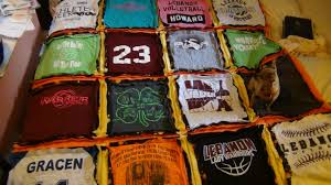 GRACEN'S T SHIRT QUILT FOR GRADUATION - YouTube &  Adamdwight.com