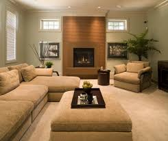 pictures of modern living rooms with fireplaces confortable