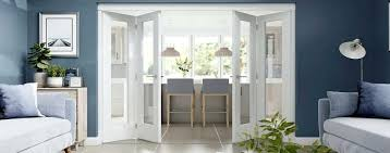 internal bifold doors door range internal internal bifold doors with glass panels uk